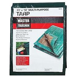 ZHEJIANG DEQING RUIDE INDUSTRIAL MT 10 X 12 GREEN/BROWN Tarp Cover