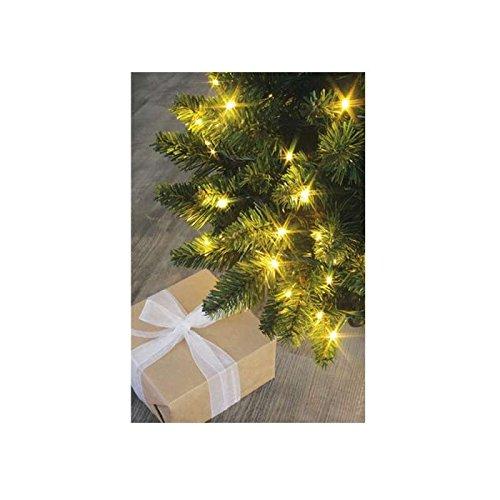 Blachere Illumination RA381A de Navidad-guirnalda, 288 ledes, luz blanca cálida, 25 cm