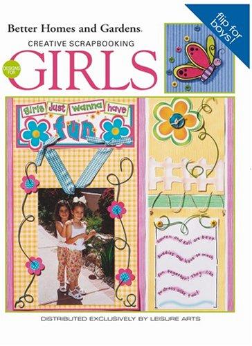 Creative Scrapbooking Designs: A Flipbook for Girls and Boys (Leisure Arts #3628) (Boy Scrapbooking)