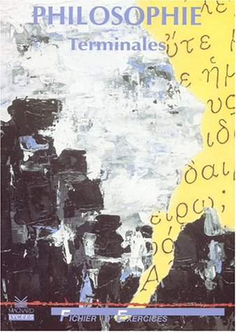 Philosophie, Terminales FTD