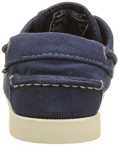 Sebago Docksides, Chaussures Bateau Femme Bleu (Navy Canvas)