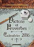 Dictions et proverbes - Calendrier 2016