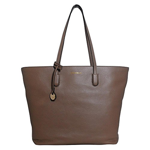 Coccinelle Shopping Bag linea Clementine Soft in vera pelle grey_taupe, grau
