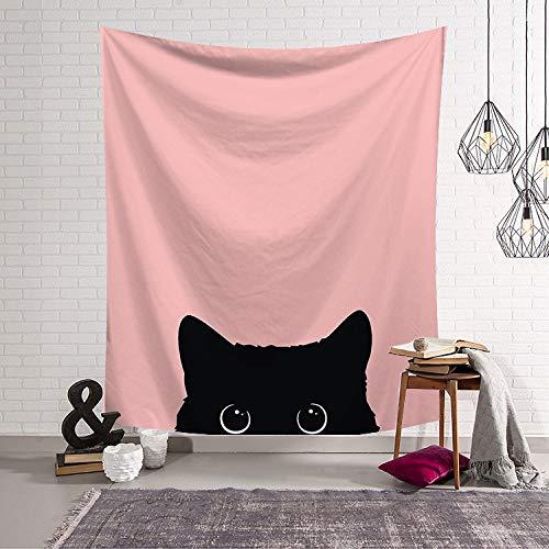 mmzki Mädchen Herz Nordic Green Schlafzimmer Dekor Stoff Wandteppich Wand Decke hängenden Stoff Hintergrund LS-TB00010 150x100 - Laguna-schlafzimmer-möbel