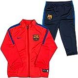 Nike FCB I TRK Suit SQD K - Chándal para niño, color rojo, talla 24-36