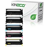 5 Toner kompatibel zu CLP-310, CLP-315, CLX-3170FN, CLX-3175FN - Schwarz je 2.500 Seiten, Color je 2.000 Seiten