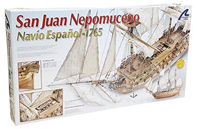 Artesania - Maquette en bois - San Juan Nepomuceno