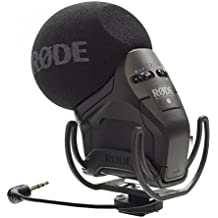 Røde, Microfono stereo Videomic Pro per fotocamera, microfono con shockmount Rycote