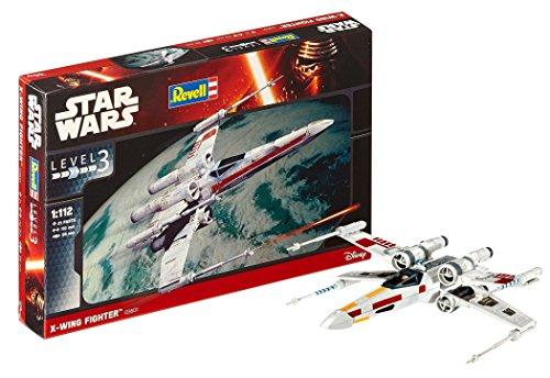 Revell- X-Wing Fighter Maqueta Astronave Star Wars, 10+ Años, Multicolor (03601)