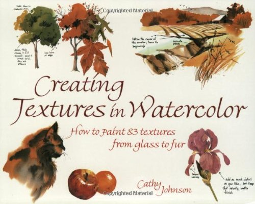 Creating Textures in Watercolor por Cathy Johnson