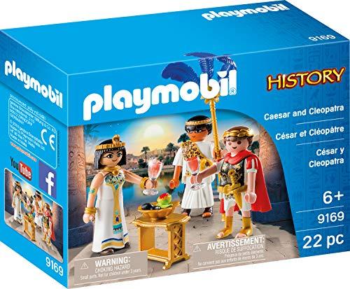 PLAYMOBIL 9169 Römer Cäsar & Kleopatra - Juego de Mesa (Contenido en alemán)