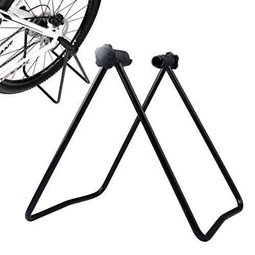 Gearmax® Neues Fahrrad Montageständer Rad Kickhalterträger Zentrierwerkzeuge Halterung für Fahrrad-Räder Straßen-Gebirgsfahrrad Werkzeuge Wartung -
