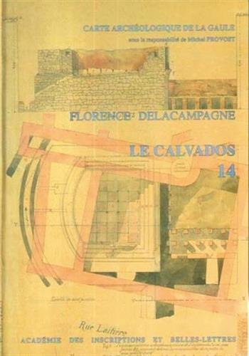 Carte archéologique de la Gaule. Calvados, numéro 14 par Florence Delacampagne