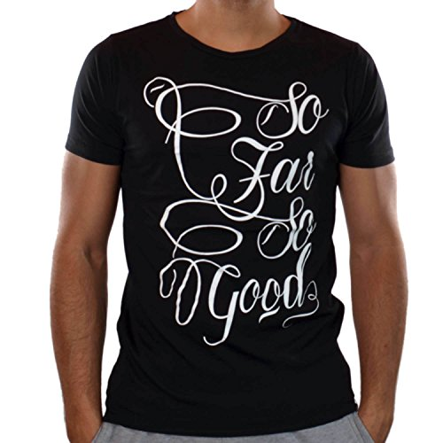 French Kick -  T-shirt - Uomo Nero  nero XXL
