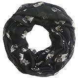 Lina-Lily-Mops-Hunde-Pug-Loop-Schal