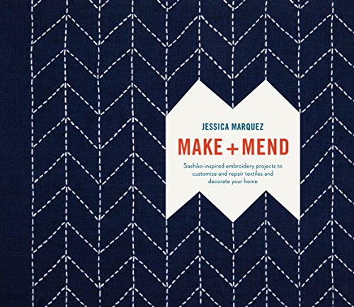 Sashiko-designs (Make and Mend: Sashiko-Inspired Embroidery Projects to Customize and Repair Textiles and Decorate Your Home (English Edition))