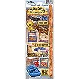 Papier House Productions stcx-0190e Travel Karton Aufkleber, Grand Canyon (6er Pack)