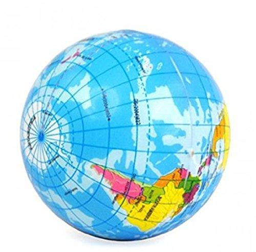 Kelaina Stressball mit kreativem Globus-Design, 1 Stück