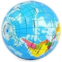 kelaina 1pc Creativo Mini PU Globo estrés socorro Bouncy Ball Toy