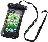 Somikon Hochwertige wasserdichte Tasche für Smartphones bis 4,0 Zoll