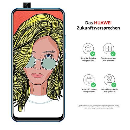 Huawei P smart Z Dual-Sim Smartphone BUNDLE (16,74 cm (6,59 Zoll), 64 GB interner Speicher, 4GB RAM, Android 9.0) Sapphire Blue + gratis 16 GB Speicherkarte [Exklusiv bei Amazon]