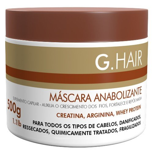 G HAIR Pump up Maske (Mascara Anabolizante) (500 GRAMS)