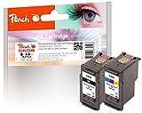 Peach Spar Pack Druckköpfe kompatibel zu Canon PG-545, CL-546