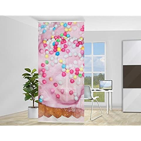 Tenda a pannello No.YK10 Cupcake, Dimensione: 250x120cm,