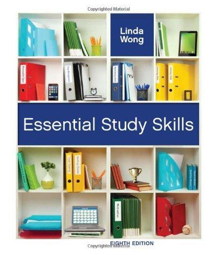 Essential Study Skills (Textbook-Specific Csfi) by Linda Wong (1-Jan-2011) Paperback