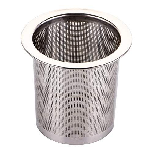 BESTONZON 1 stück Edelstahl Cold Brew Kaffeemaschine/Mesh Tee-ei, zum Brauen Steeping Lose Tee und Kaffee (7 cm) (Cold Brew-kaffee-tasse)