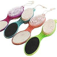 HAO Multifunktions 4In1 Fuß Bimsstein Peeling Dead Skin Remover Pinsel Pediküre Schleifen Fußpflege Werkzeug Massagegerät... preisvergleich bei billige-tabletten.eu