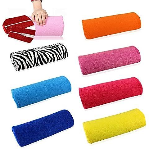 Amortiguador De La Mano Suave Almohada Titular Resto Arte De Uñas De Manicura Mano Almohada -