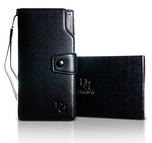 divinio-ladies-purse-clutch-wallet-rfid-blocking-travel-organiser-multi-card-slots-pu-leather-long-z