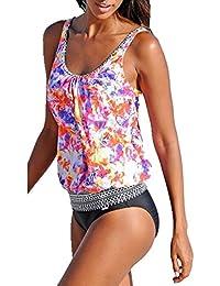 Webla - Tankini - Femme multicolore L - - M Vente Boutique Pour mezrs8B