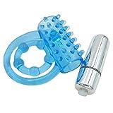 ECMQS Sexspielzeug Penisringe - Schreiende O-Ring Elastische vibrierende Kugel Zunge Cock Ring