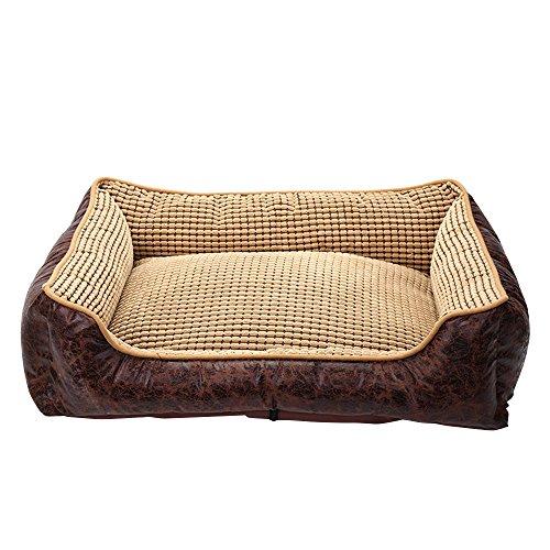Skyoowashable Tissu Oxford pour animal domestique Tapis confortable Canapé lit Canapé pour Animal Domestique