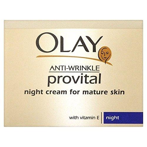 Olay Anti-Wrinkle Provital Night Cream for Mature Skin (50ml) by Olay