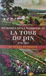 Mémoires de la marquise de La Tour du Pin 1778-1815 par Dillon