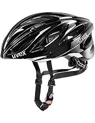 Uvex Boss Race Rennrad Fahrrad Helm schwarz 2015: Größe: 55-60cm