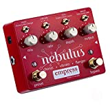 Empress Nebulus Chorus, Vibrato and Flanger Guitar Effects Pedal