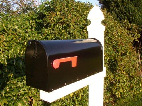 US Mailbox aus Stahl in schwarz - 2