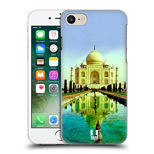 Head Case Designs Venise Canal De La Gondole Italie Meilleurs Endroits - Collection 3 Étui Coque D'Arrière Rigide Pour Apple iPhone 6 / 6s Taj Mahal Inde