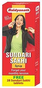 Baidyanath Sundari Sakhi - 450 ml Free 28 Sundari Sakhi tablets