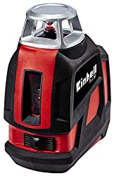 Einhell 360 ° laser TE-LL 360 (work area 20 m, leveling range 4 °, Sofgrip, incl. Height-adjustable wall mount, incl. Practical storage bag)