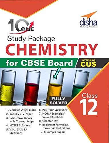 10 in One Study Package for CBSE Chemistry Class 12 with 5 Model Papers