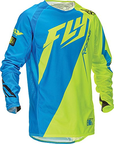 Fly Racing Jersey Evolution 2.0 Switchback Blau Gr. L - 2 Blaue Trikot