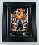 The Hunger Games Signed + Hunger Games Film Cells Framed