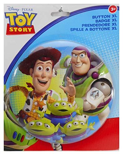 Lizenzartikel Toy Story XL Button zum Stellen 14cm Disney Buttons Anstecker Deko GED 119176