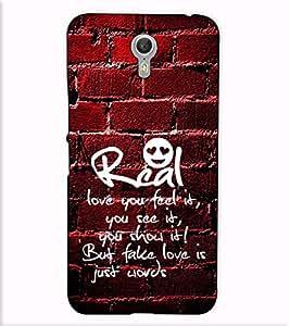 Fuson Designer Back Case Cover for Lenovo ZUK Z2 Pro (Real love you feel is theme)