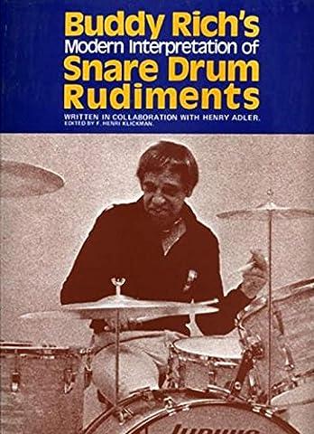 Buddy Rich's Interpretation of Snare Drum Rudiments